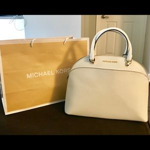 Michael Kors Large Emmy Dome Satchel plus wallet